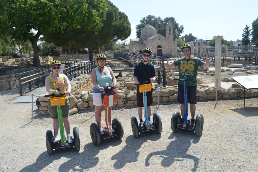 Trysegway exploring Paphos