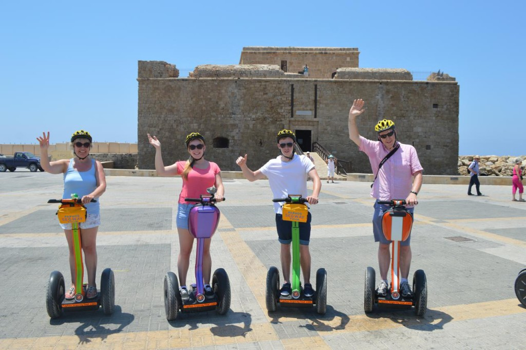See the best of paphos landmarks with Paphos Segway Tour